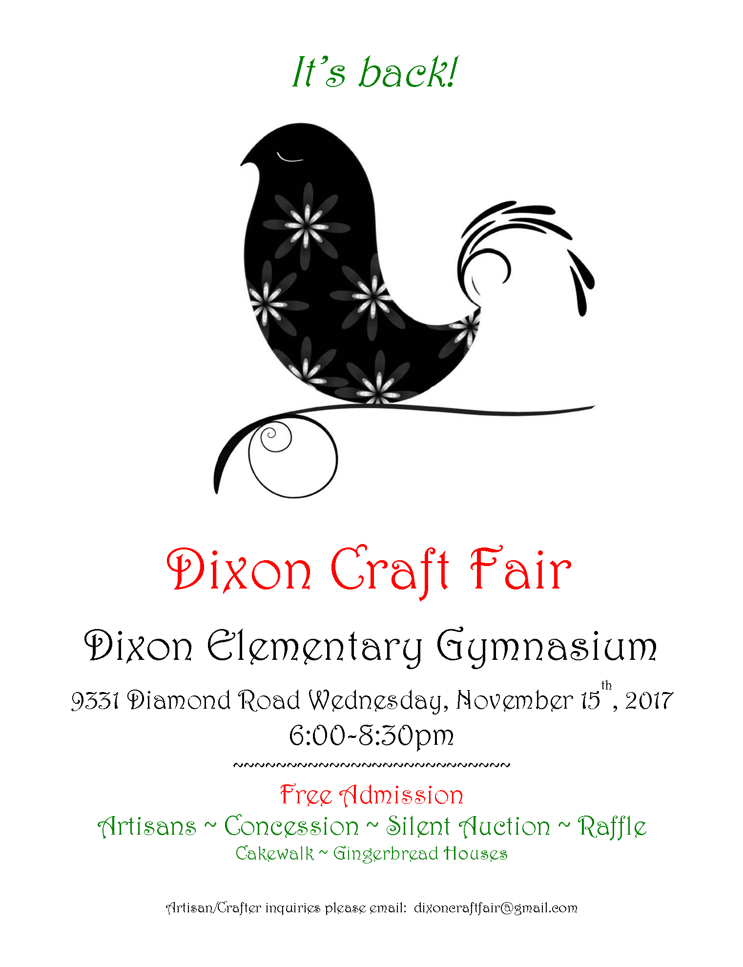 Dixon craft fair 2017 it s back vancouver events for Columbia craft show 2017