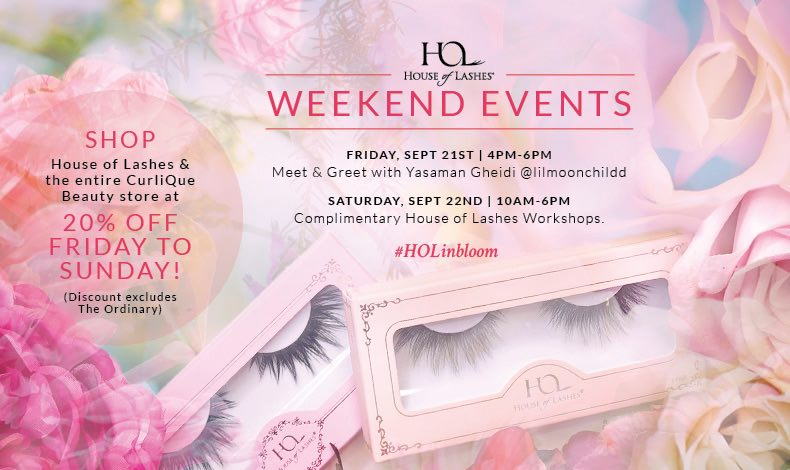 House of Lashes in Bloom at CurliQue – Vancouver Events